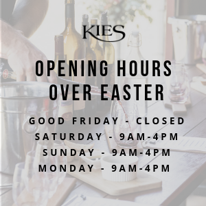 Kies Winery opening hours over easter